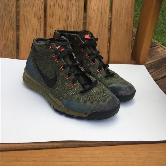 Nike Flyknit Trainer Chukka FSB Sequoia Free Trail