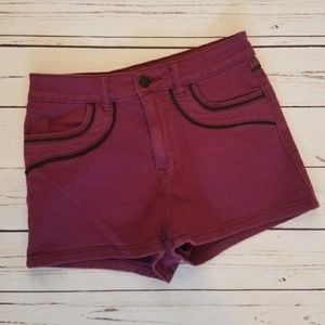 Urban Outfitters BDG Purple High Rise Erin Shorts