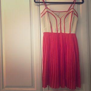 Gianni Bini Fabulous Strappy Pleated Dress Size S