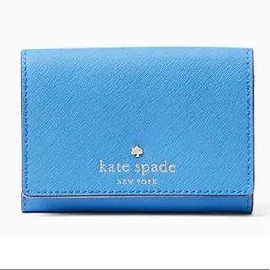 NWT Kate Spade Alice Blue Christine Wallet