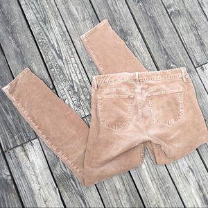 """Gap 1969 """"Always Skinny"""" 29 LONG Corduroy Pants"""