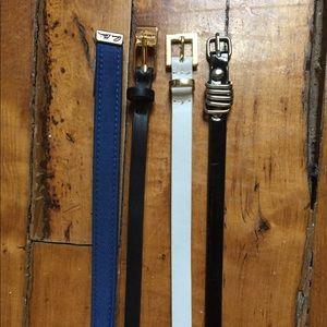 Anne Klein Calvin Klein and Express Skinny Belts