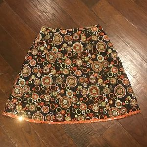 Fall Colored Talbots Skirt