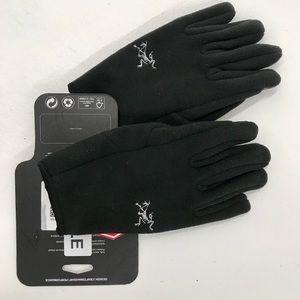 Arc'Teryx Delta Fleece Gloves Black Medium NEW