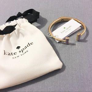 Kate Spade Lilac Bangle Bracelet