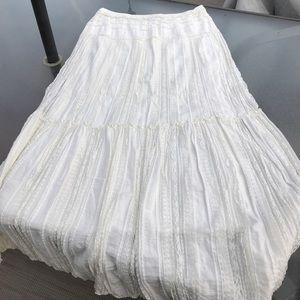 Max edition cream lace skirt