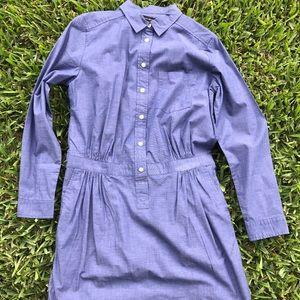 Women's Banana Republic Chambray Shirt Dress.