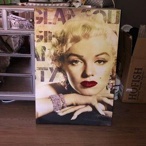 Marilyn Monroe Canvas Poster