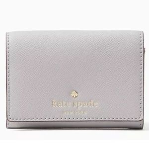 NWT Kate Spade Grey Christine Wallet