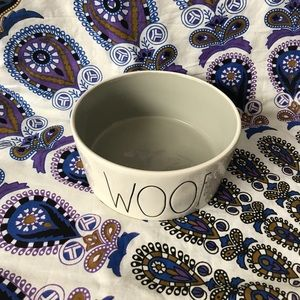 XL Woof Dog Bowl By Rae Dunn
