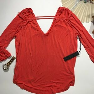 YOUNG FABULOUS & BROKE 🔥 Lina Top Coral Spice S