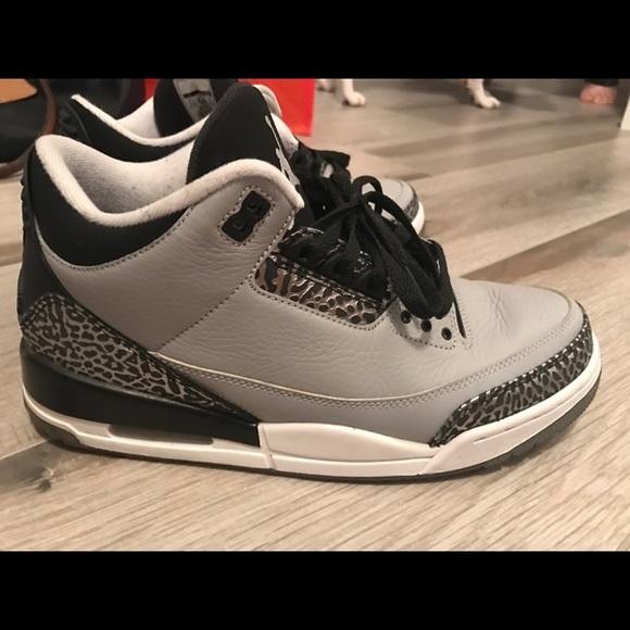 info for 57b0c 12a8d Air Jordan 3 cool grey