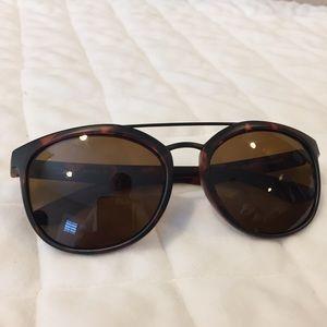 Suncloud women's tortoise sunny sunglasses