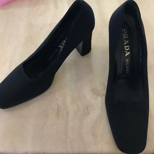 vintage prada pumps 40