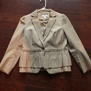 Jackets & Blazers - Ann Taylor LOFT peplum blazer