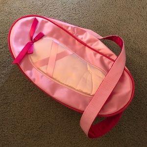 Girls ballet bag pink