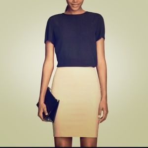 H&M beige pencil skirt. Never worn.