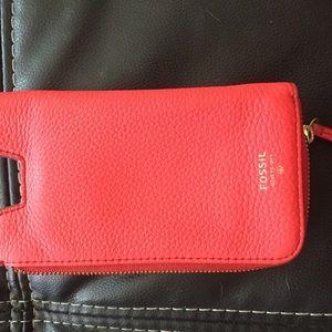 Fossil Zipper Wallet