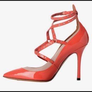 Valentino Garavani Love Latch 2 Tone Heels