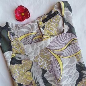 Zara Kimono Sleeve Hi Lo Top, Sz XL