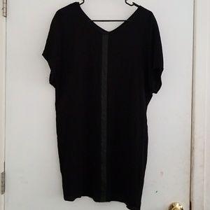 Madewell Black Eyelet Dress XS