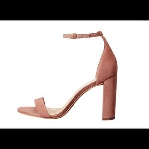 Vince Camuto Ankle strap block heel