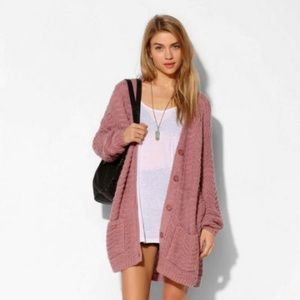 """ISO urban outfitters """"kimchi blue"""" chunky cardigan"""