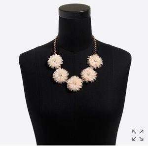 Jcrew dahlia Burst statement necklace