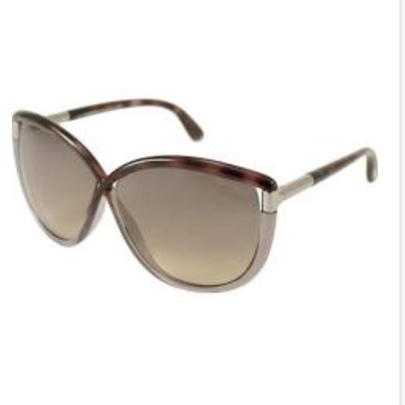 b56bcfb82fac Tom Ford Abbey Oversized Crossover Sunglasses. M 59ebbfc42599fe11aa05550e