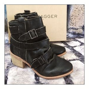 Kelsi Dagger For Anthropologie Grand Buckle Boots