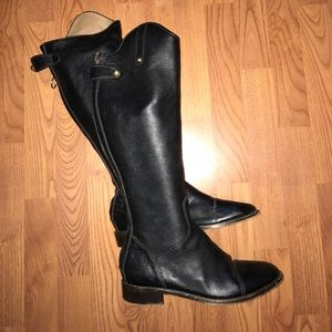 Dolce and gabana D&G leather riding boots