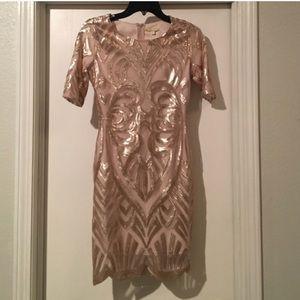 Gianni Bini sequin party dress