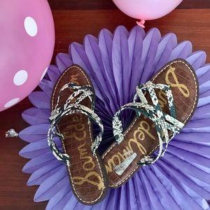 Sam Edelman Snakeskin Sandals