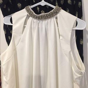 New tobi white swing dress