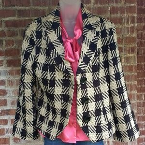 Coldwater Creek tweed blazer