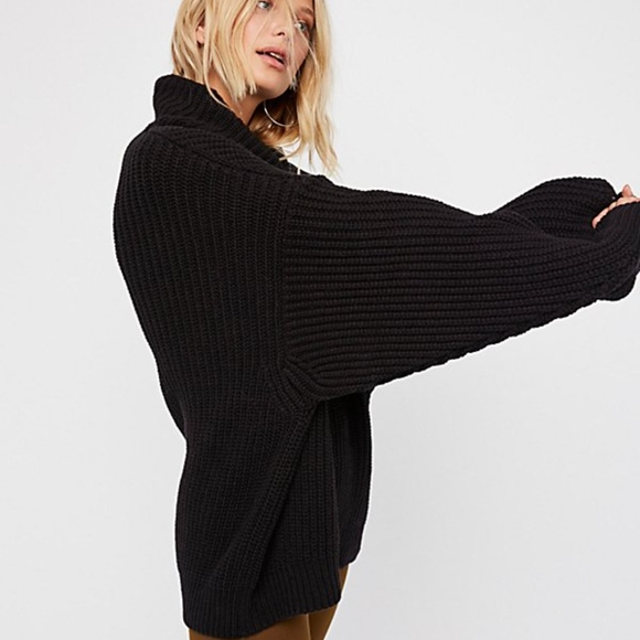 Free People Sweaters Swim Too Deep Sweater S Poshmark