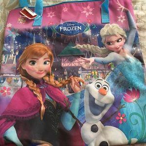 NWT Anna & Elsa Disney tote