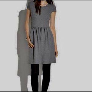 Madewell screenplay dress, charcoal gray