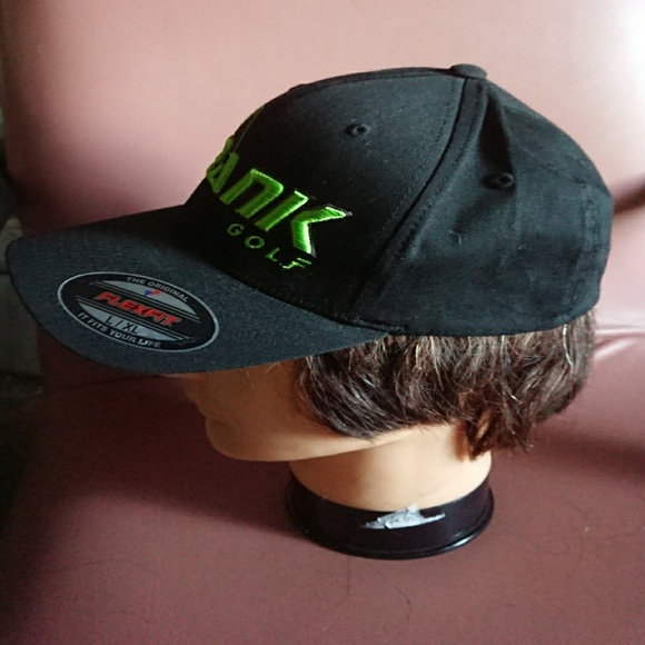 flexfit accessories krank golf hat lxl black cap poshmark