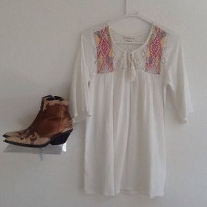 Billabong/boho gauze dress/tunic