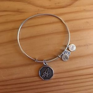 "Alex & Ani Initial ""A"" Bracelet"