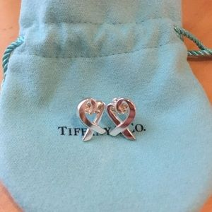 Tiffany & Co. Paloma Picasso heart Earrings
