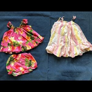 Other - 3 for $15 - 2 Adorable Baby Girl Dresses