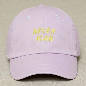 Women's Pink and yellow Forever 21 Hat