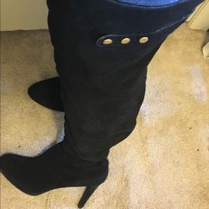 Kelsi Dagger Thigh High Suede Boots