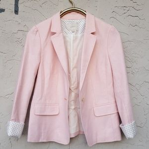 Loft  light pink blazer.