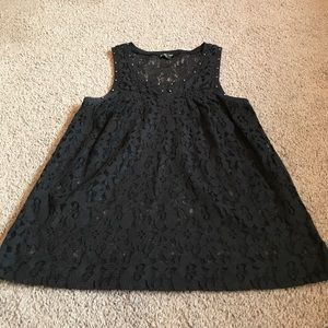 Express Lace black top with studs