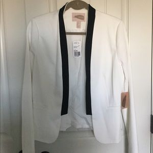 NEW Ivory/ Black Jacket