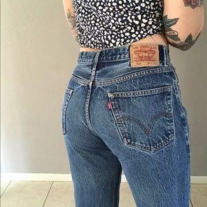 Levi's 550 Vtg Mom Jeans in Blue