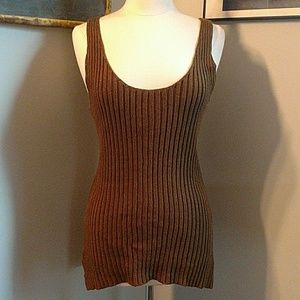 Ralph Lauren tunic length sweater tank XL